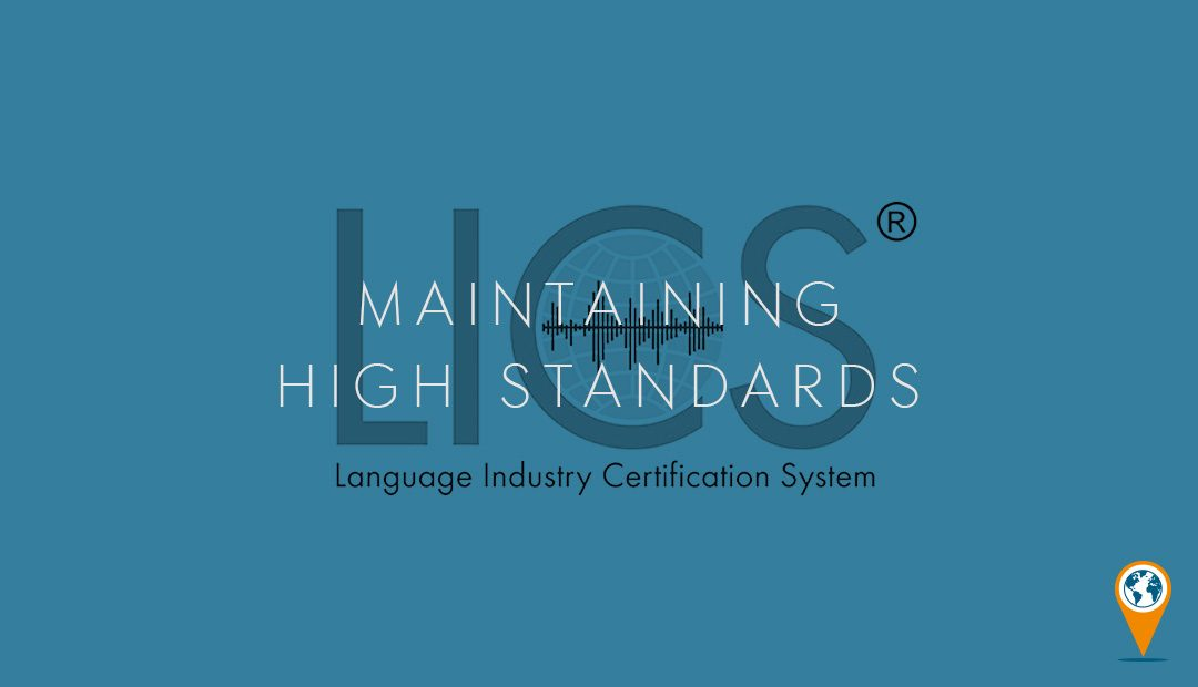Jonckers is ISO and LCIS Accredited