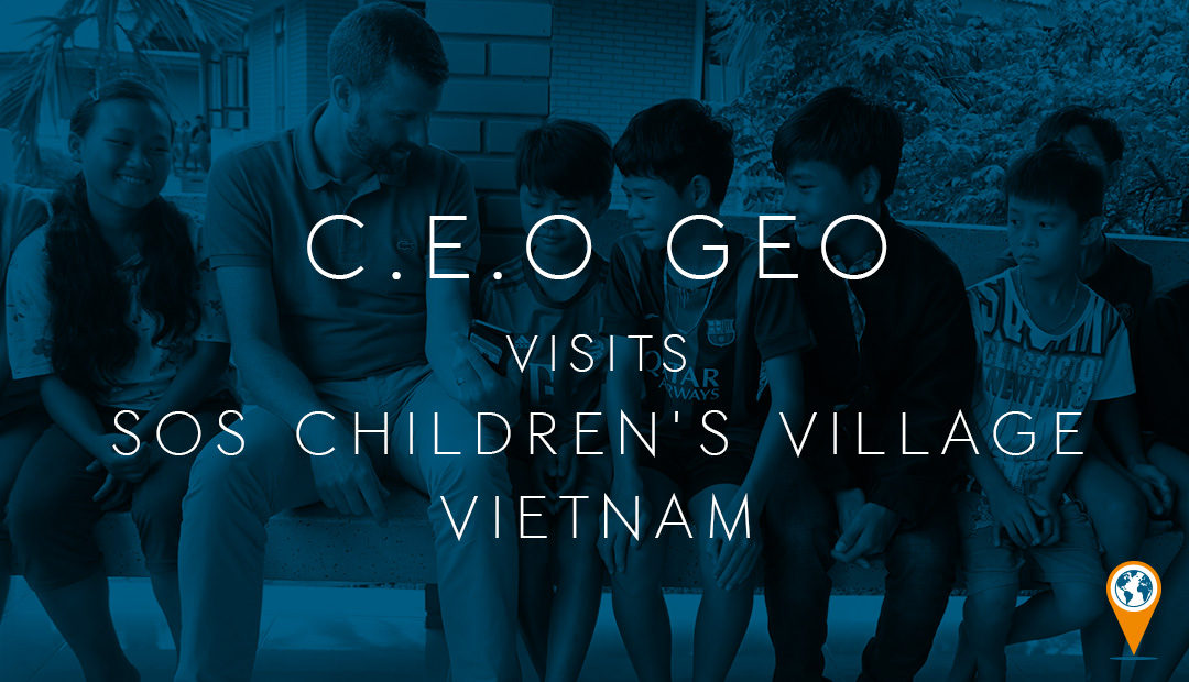 CEO Geo visits SOS Children's Village Vietnam